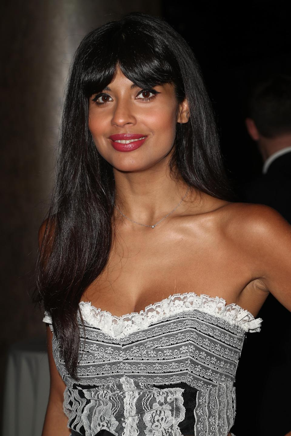 Jameela Jamil didn't appreciate a fellow gym-goer criticizing her body. (Photo: Frederick M. Brown/Getty Images)