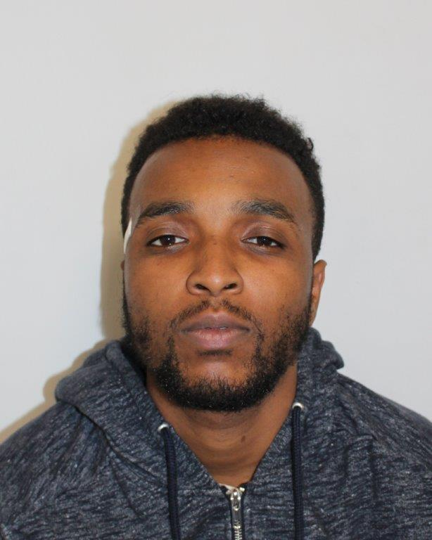 Adam Adeniran is wanted in connection to the west-London murder