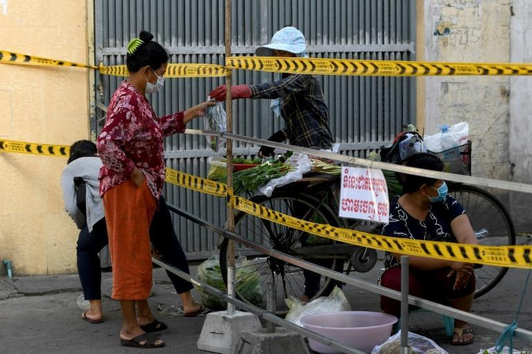 The Cambodian capital Phnom Penh is under lockdown and the prime minister has ordered tougher enforcement of restrictions