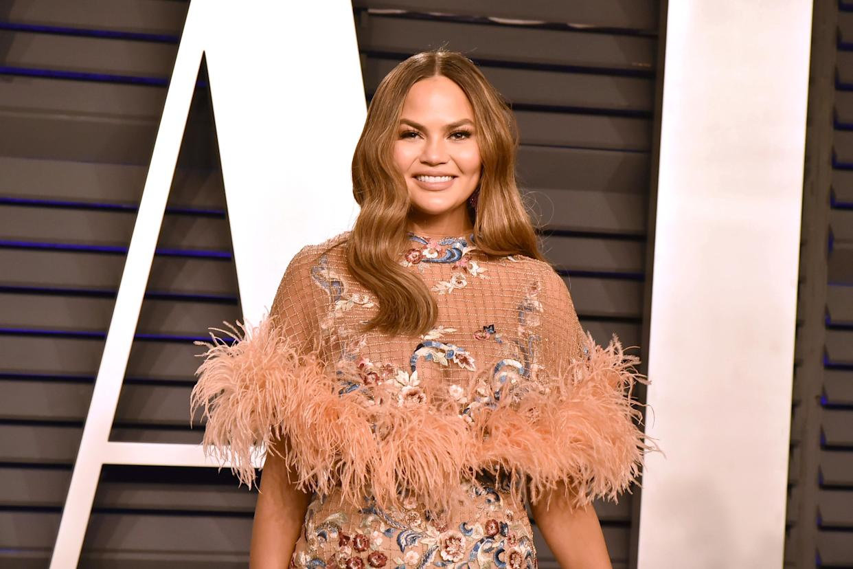 Chrissy Teigen urged her followers to vote Trump out. (Photo: David Crotty/Patrick McMullan via Getty Images)