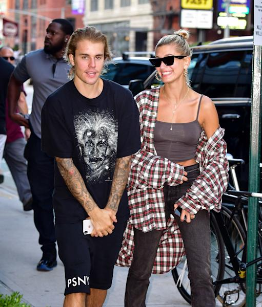 Earlier this week, Justin Bieber and his new fiancee, model Hailey Baldwin,