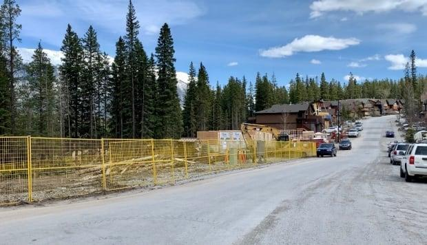 Construction has started on a 10-unit townhouse project on Lawrence Grassi Ridge in Canmore, Alta. It's being built by Canmore Community Housing in an effort to increase the supply of affordable housing in the mountain town west of Calgary.