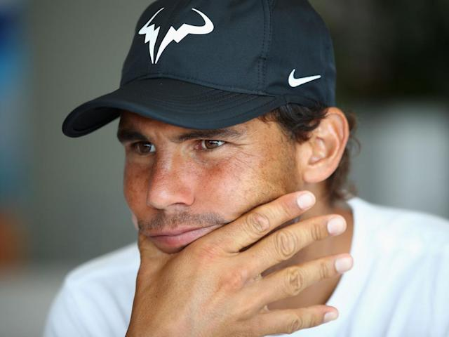 Nadal stressed that he needed to ease himself back into competing on clay (Getty)