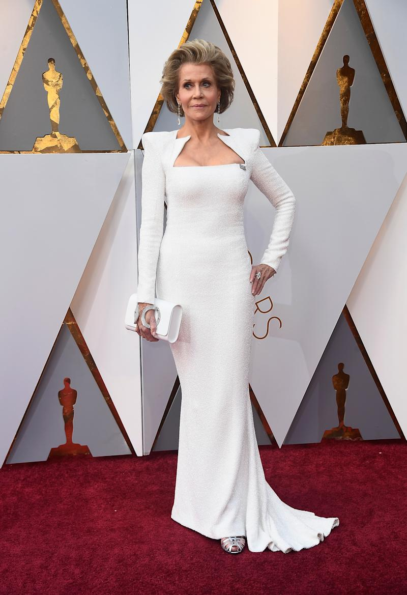 15 Bridal-Inspired, Wedding Looks From the Oscars 2018 Red Carpet