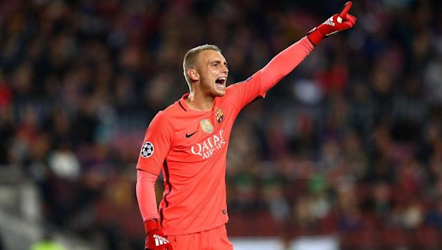 <p>The Barcelona and Netherlands keeper moved from Ajax last summer for around £11m.</p> <br><p>He boasts two Eredivisie titles in his locker alongside a third place medal from the 2014 World Cup.</p> <br><p>He's been used as Barca's cup man this season, keeping three clean sheets in total. He's also called Jasper, which is nice.</p>