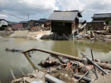 Japan floods kill 200: Mountainous terrain, lack of risk awareness among reasons for high toll, displacement of people