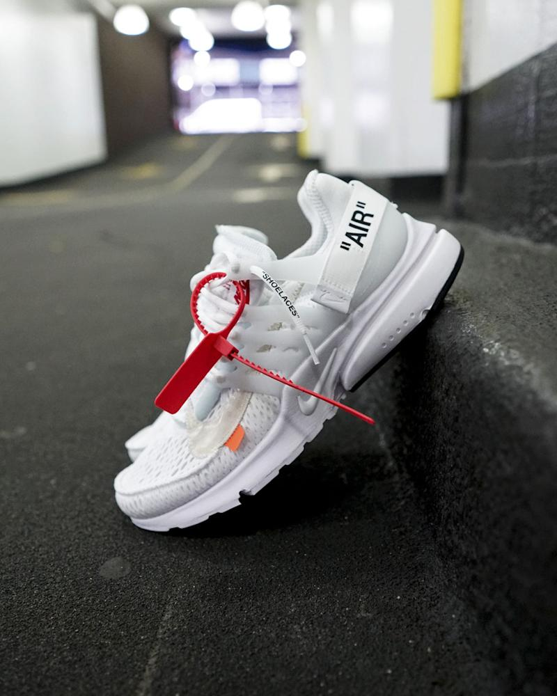A Closer Look at the Newest Off White x Nike Air Presto
