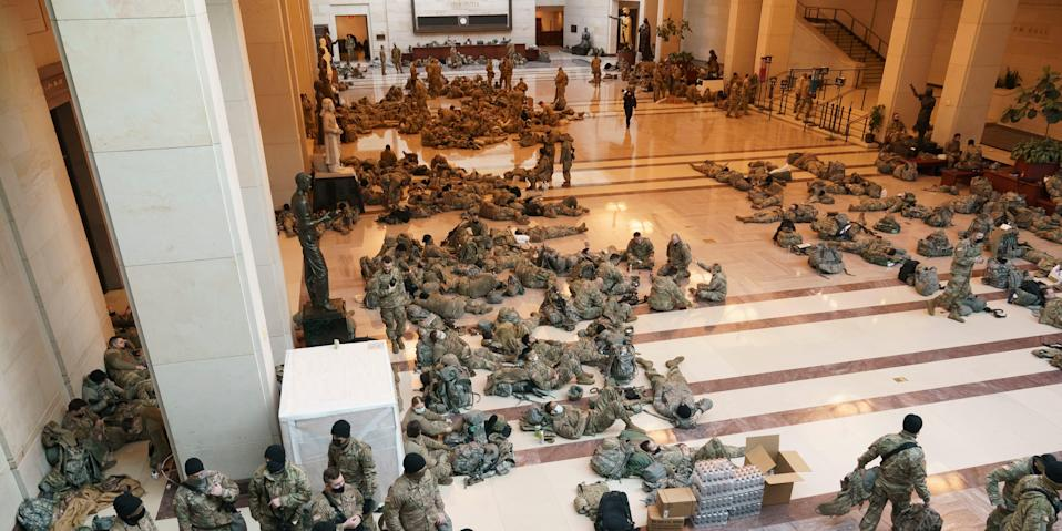 National Guard in Capitol