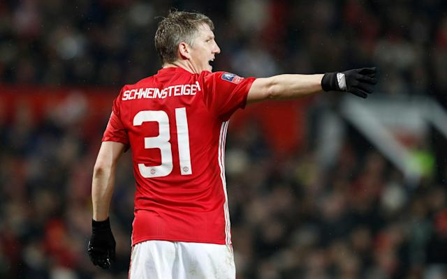 <span>Bastian Schweinsteiger completed his move to Chicago Fire earlier this week </span> <span>Credit: PA </span>
