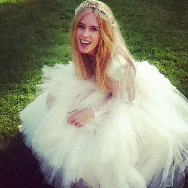Mary Charteris On Her Pam Hogg Wedding Dress: \'I Was Worried It Was ...