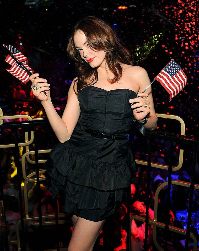 "Last weekend, Rose McGowan hosted a ""Get out and Vote"" event at the Bellagio's Bank nightclub in Vegas. The ""Scream"" queen may be hot, but going to your polling place to vote on November 4 is even hotter. Denise Truscello/<a href=""http://www.wireimage.com"" target=""new"">WireImage.com</a> - October 25, 2008"