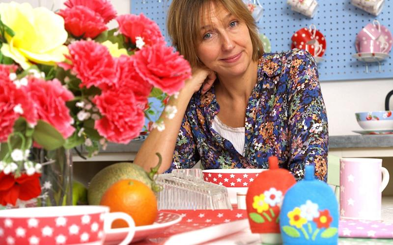 Cath Kidston at her showroom, London - Rex Features