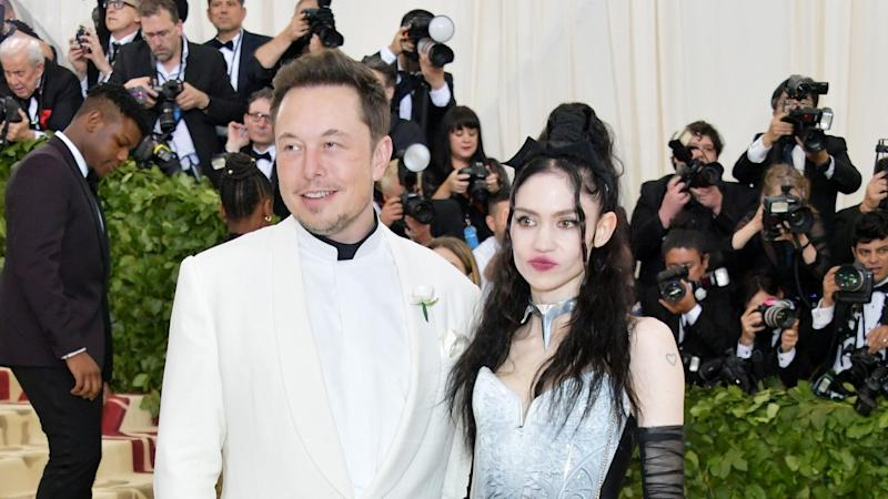 Grimes Says She's 'Knocked Up' in Nude Photo, Fueling Speculation She's Expecting First Child With Elon Musk