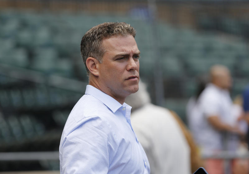 Theo Epstein's 10-pound rescue dog, Winston, allegedly caused thousands of dollars worth of damage in the Arizona rental home his family stayed at during spring training in 2015.