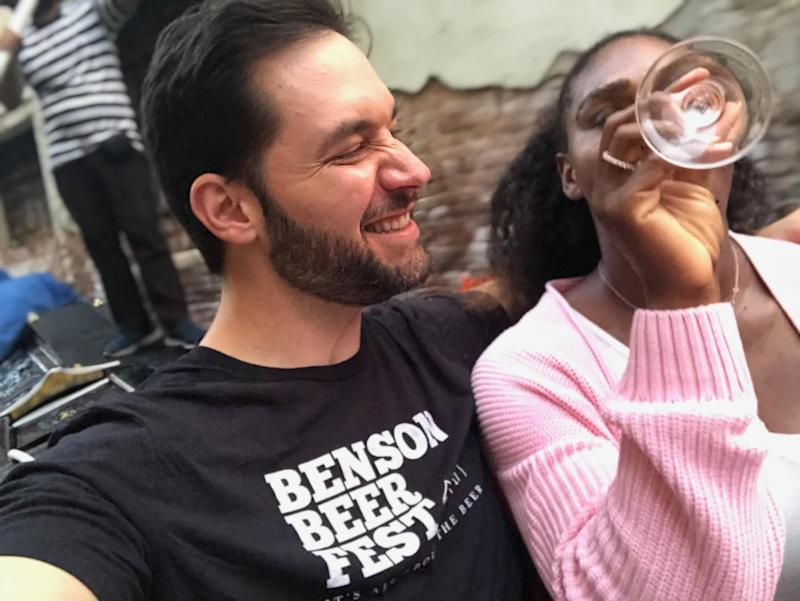 "When Alexis Ohanian and Serena Williams took a selfie during a trip to Italy, Ohanian posted the picture to Instagram with the caption ""She wanted Italian for dinner, so…."" The photo went viral, and helped earn him his reputation for ""going big"" when it comes to romance."