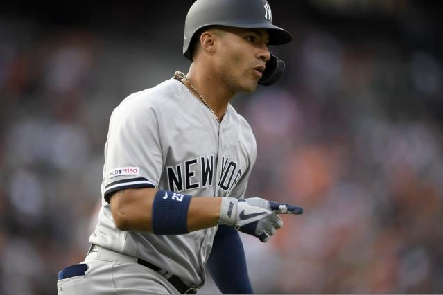 Gleyber Torres out of Yankees lineup again as a precaution