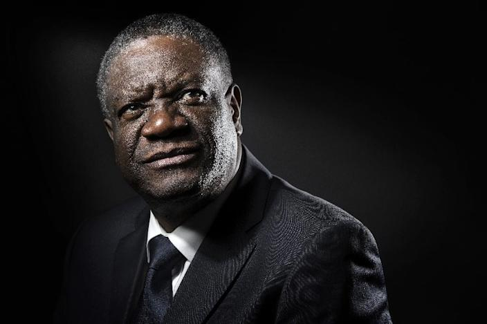 """Congolese gynaecologist Denis Mukwege is known as """"Doctor Miracle"""" for his surgical skill in helping women overcome the injuries and traumas of sexual abuse and rape (AFP Photo/JOEL SAGET)"""