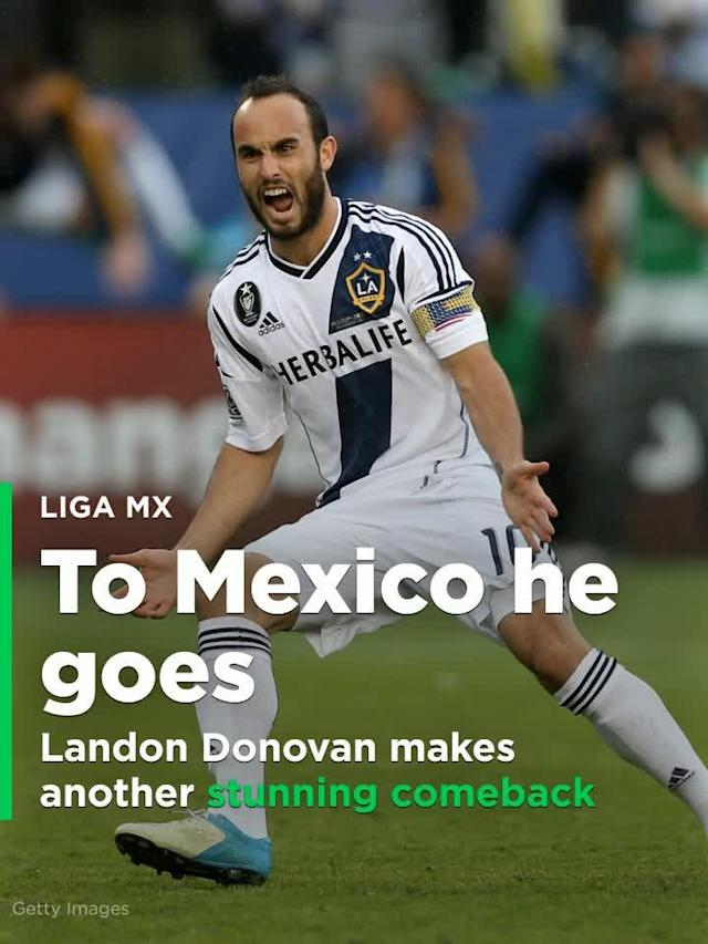 Landon Donovan makes another stunning comeback, signs with Club Leon in Mexico