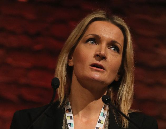 Sophie Walker, the quietly-determined leader of the Women's Equality Party, doesn't do angry.