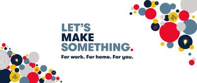 """TPH's brand refresh includes a new tagline, """"Let's Make Something"""" suggesting the power lies in collaboration and co-creation. (CNW Group/The Printing House Limited)"""