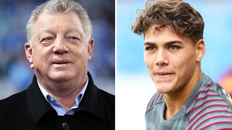 Phil Gould is being criticised for comments about Queensland's Reece Walsh.