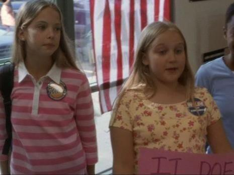 ashley benson on the west wing