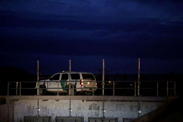 PHOTO: A U.S. Customs and Border Protection vehicle patrols along the border in El Paso, Texas, in this picture taken from Ciudad Juarez, Mexico, Feb. 14, 2019. (Jose Luis Gonzalez/Reuters)