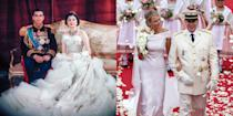 <p>What were regal brides wearing the year you were born?</p>