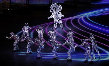 Pyeongchang 2018 Winter Olympics - Closing ceremony - Pyeongchang Olympic Stadium - Pyeongchang, South Korea - February 25, 2018 - Artists perform during the closing ceremony. REUTERS/Leonhard Foeger
