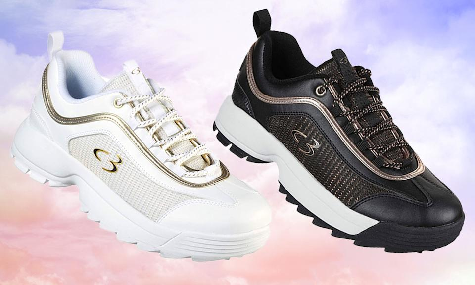 The Concept 3 by Skechers Women's Beyond Fresh Lace-up Fashion Sneaker make it feel like you're walking on clouds. (Photo: Amazon/Getty)
