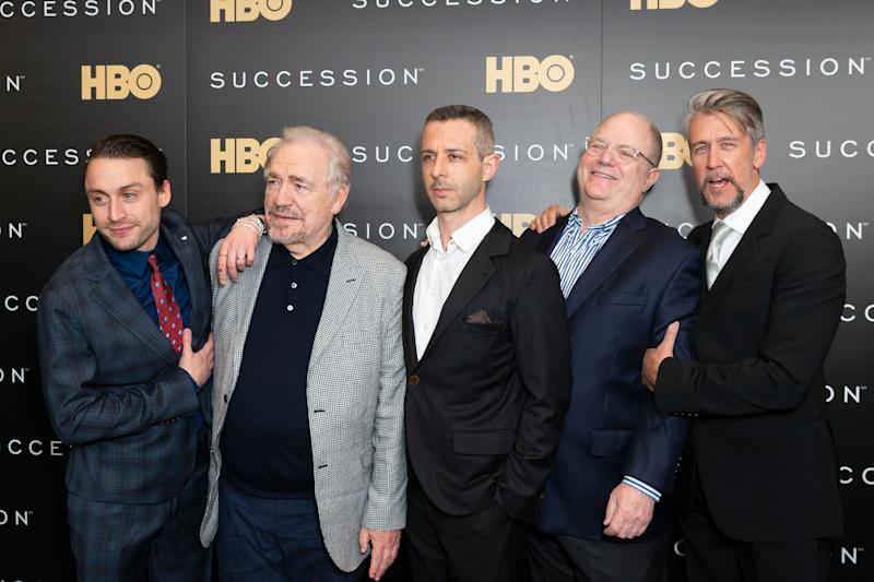 Succession cast at show premiere