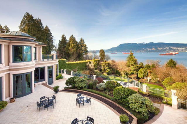<p>No. 1: <span>Vancouver, British Columbia</span><br> List price: $63,000,000<br> Topping the ranking is the recently-listed home of Vancouver philanthropist Joe Segal. Sotheby's has not released the address of the home, so only seriously interested parties will be able to check it out. The empty property was bought for $7 million in 2009, and the construction of the home was overseen by Segal's wife of 70 years, Rosalie. (Photo: Sotheby's) </p>