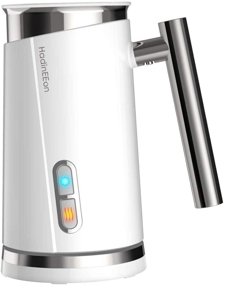 <p>The <span>HadinEEon Milk Frother</span> ($46) let's her enjoy the frothiest coffee, hot and cold. It works wonders on plant-based milks!</p>