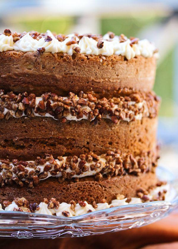"<strong>Get the <a href=""http://www.aspicyperspective.com/2011/10/pumpkin-spice-cake-with-maple-frosting.html"" target=""_blank"">Pumpkin Spice Cake with Maple Frosting recipe</a> from A Spicy Perspective</strong>"