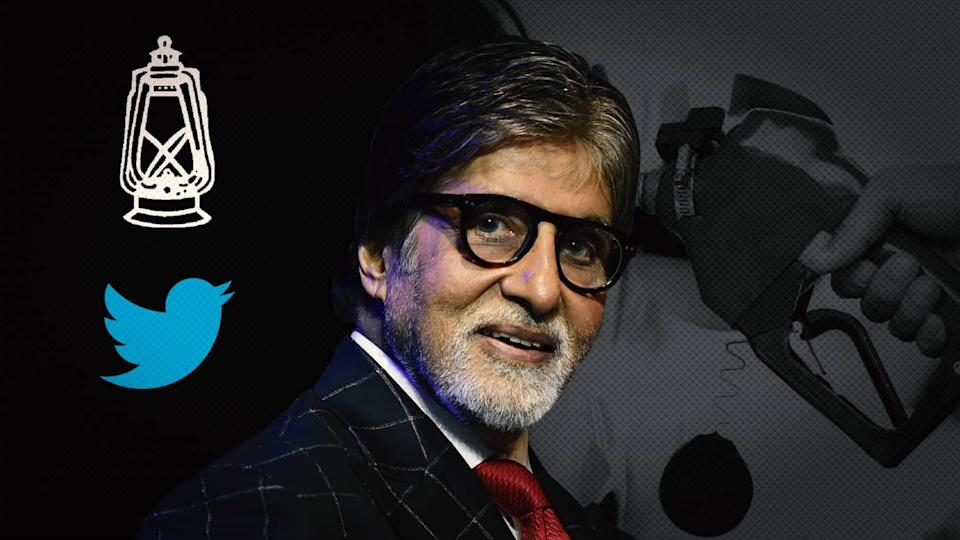 RJD slams Amitabh for not tweeting about petrol price hike