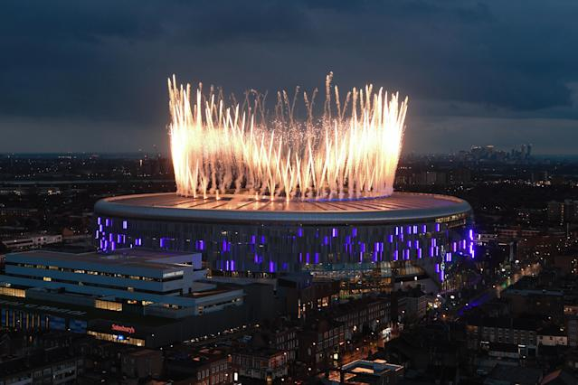 Tottenham opened their new ground in spectacular fashion (Getty)