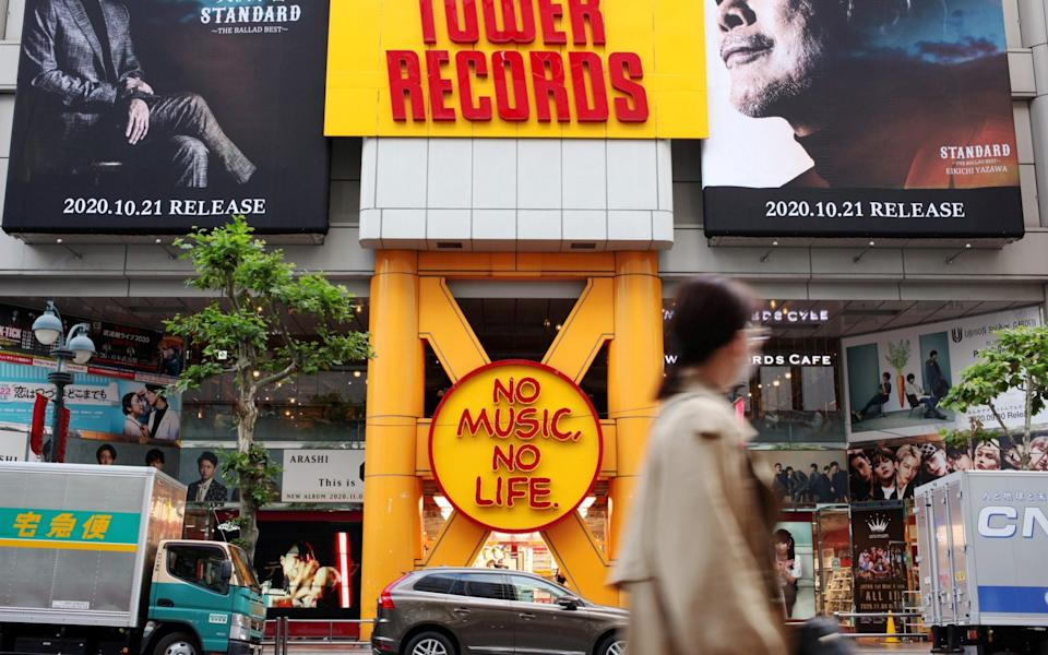 Tower Records remains a popular brand in Japan - Ritsuko Ando/Reuters