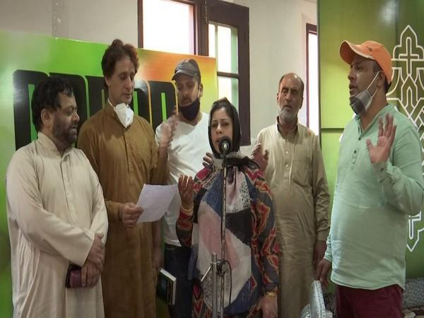 Musicians in Kashmir resume recording of songs after a gap of one year (Photo/ANI)
