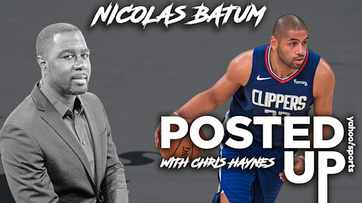 Los Angeles Clippers F Nicolas Batum joins Posted Up with Chris Haynes (Michael Wagstaffe/Yahoo Sports)