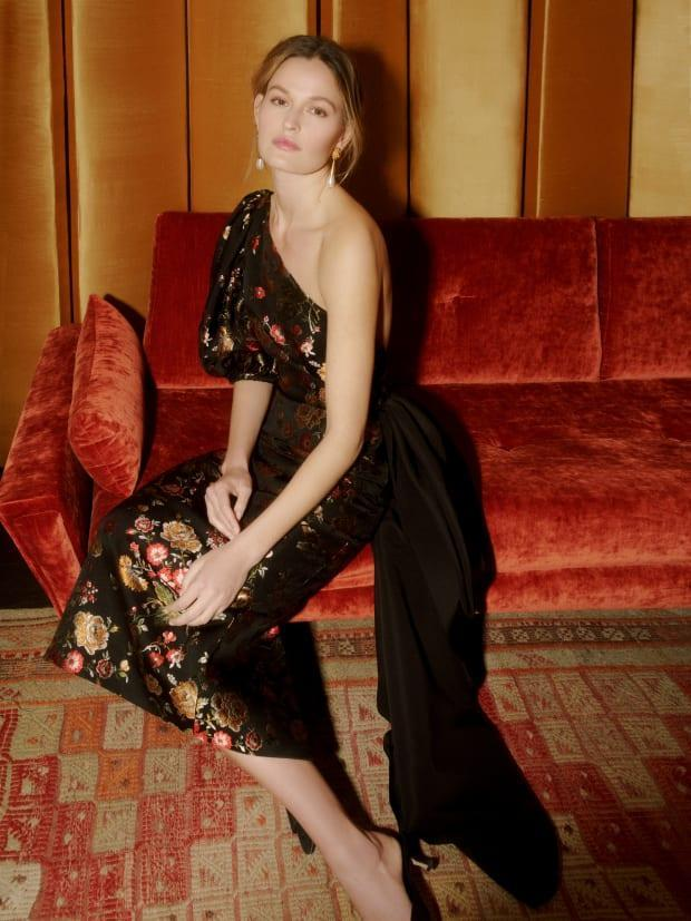 <p>A look from the Markarian Fall 2021 collection. Photo: Courtesy of Markarian</p>