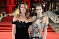 <p>Kaia has been blessed with Cindy's good looks, and also works as a model just like her mum.</p>
