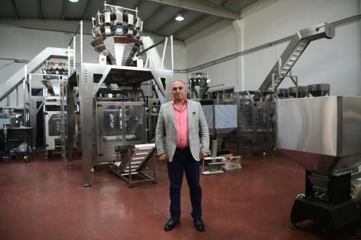 Syrian businessman Amer Hadri, head of crisp and snack packaging company Zirve Extrusion, has succeeded in resuming his business, once based in the war-ravaged city of Aleppo, in the Turkish city of Gaziantep