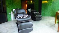 <p>A room designated for special hair treatments. Prices per treatment can go up to $250 per session. </p>