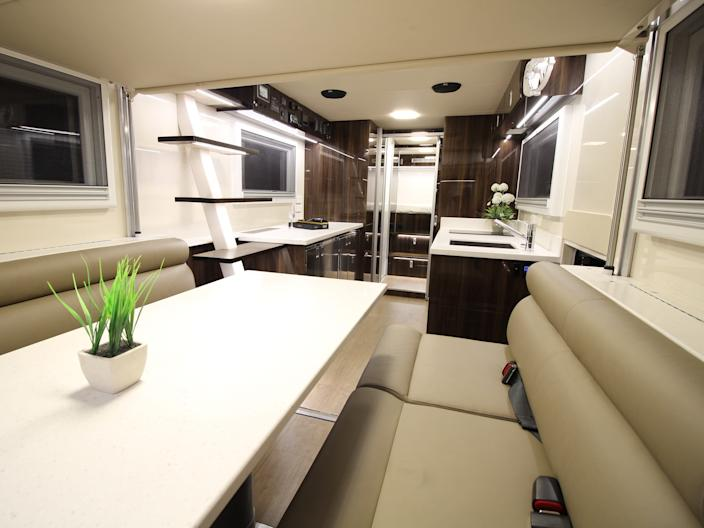 SLRV Expedition Vehicles - Custom Camper - Australian Family of 8