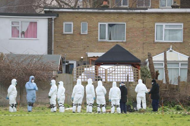 Forensics in Deal, Kent