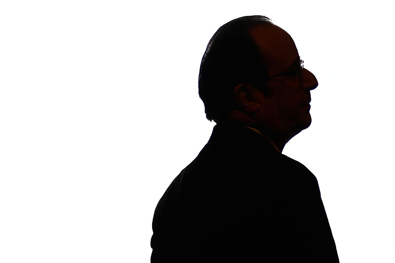 <p>French President Francois Hollande waits for the arrivals for a summit gathering heads of state and governments from France, Germany, Spain and Italy, in Versailles, near Paris, France, 06 March 2017. The Versailles summit comes in preperation for a meeting of EU leaders on 25 March in Rome to mark the 60th anniversary of the Treaty of Rome. (Martin Bureau/EPA) </p>