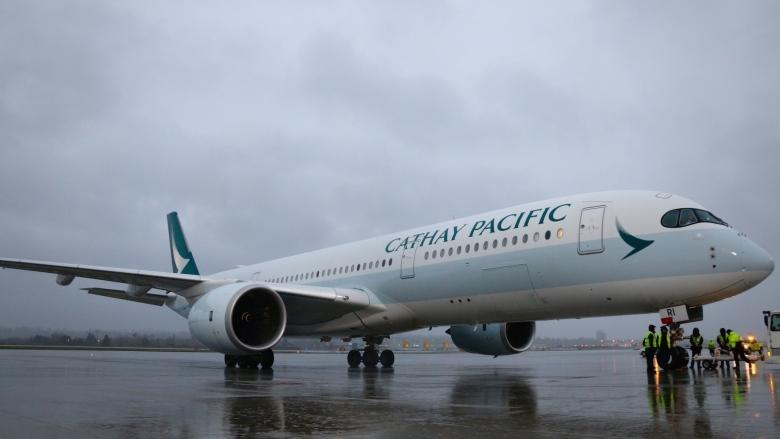 Quieter, faster Airbus makes 1st scheduled Canadian flight to Vancouver