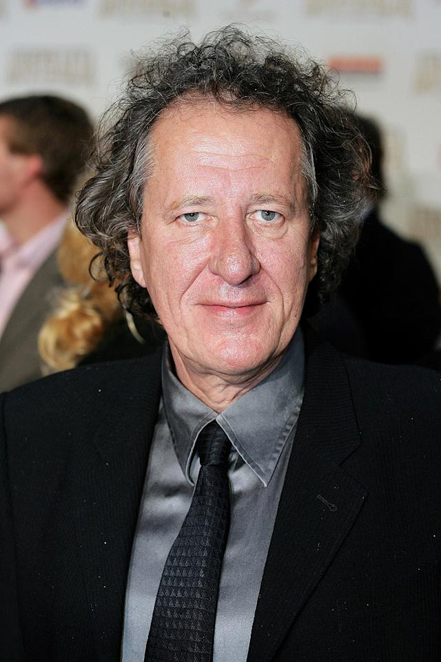 """<a href=""""http://movies.yahoo.com/movie/contributor/1800018920"""">Geoffrey Rush</a> at the Sydney premiere of <a href=""""http://movies.yahoo.com/movie/1809878217/info"""">Australia</a> - 11/18/2008"""