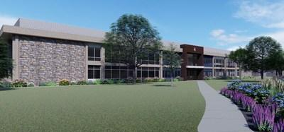 Spring House Innovation Park Building 4 Rendering courtesy of MRA Group