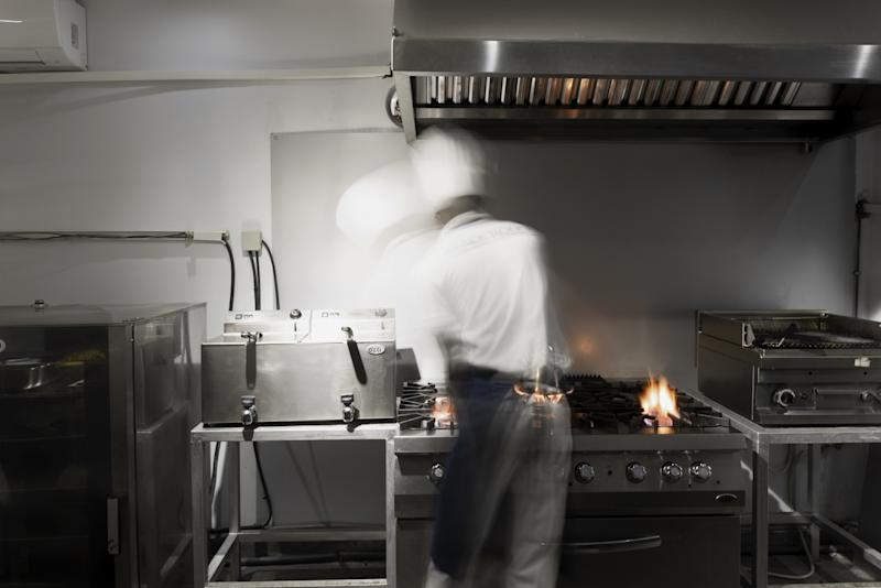 A chef's kitchen, which will blend art and gastronomy.